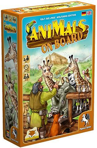 Familienspiel »Animals on Board«