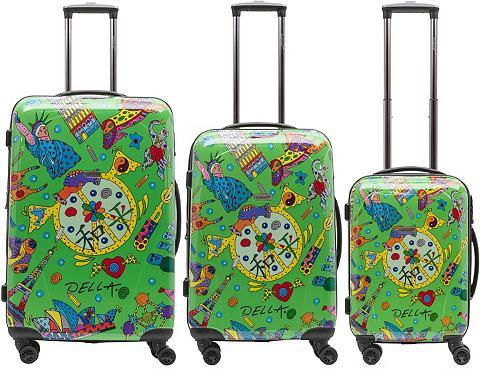 Plastikinis lagaminas ant ratukų rinki...