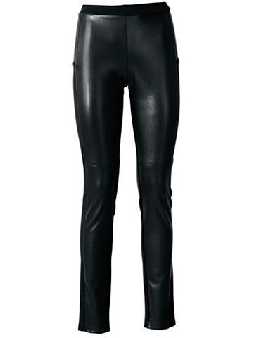 ASHLEY BROOKE by Heine Dirbtinės odos kelnės su Stretcheinsat...