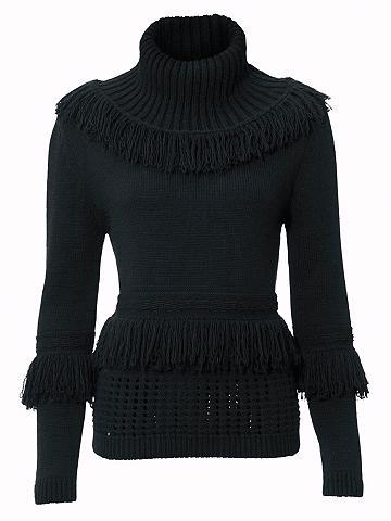 Megztinis aukštu kaklu su kutai