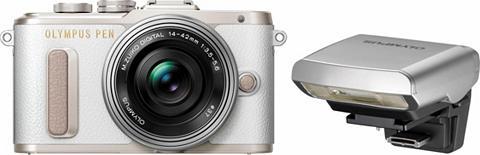 Olympus »E-PL8« Systemkamera (14-42mm EZ Panca...