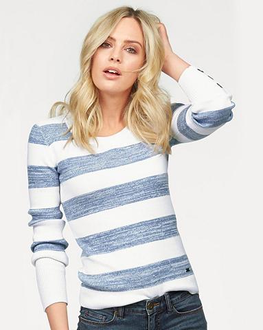 Dryžuotas megztinis »mit sagos ant Ärm...