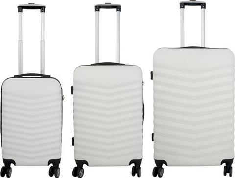® Plastikinis lagaminas ant ratukų rin...