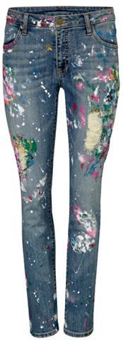 Laisvo stiliaus džinsai su trendige fa...