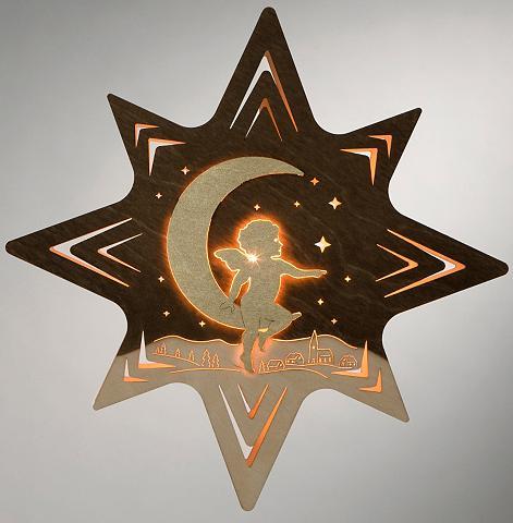 WEIGLA ® Lango dekoracija »Engel ant Mond«