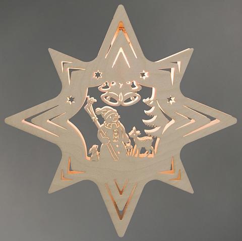 WEIGLA ® Lango dekoracija »Schneemann«