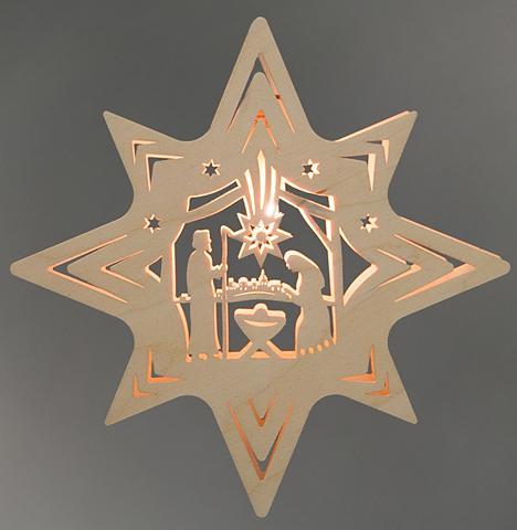WEIGLA ® Lango dekoracija »Christi Geburt«