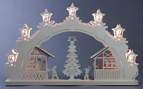 WEIGLA ® Arka 7-flammig »Weihnachtsmarkt«