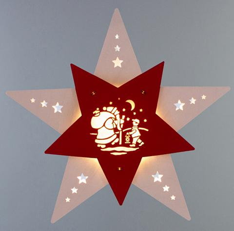 WEIGLA ® Lango dekoracija LED »Knecht Ruprech...