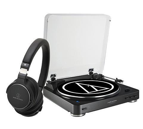 Rinkinys: Bluetooth-Plattenspieler ir ...
