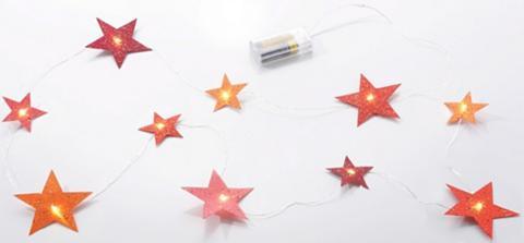 LED girlianda »Sterne«