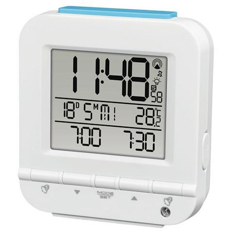 Hama Funkwecker Dual Alarm 2 Weckzeiten Lic...