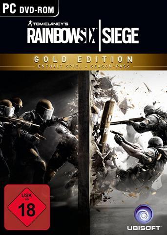 UBISOFT Tom Clancy`s Rainbow Six Siege Gold Ed...