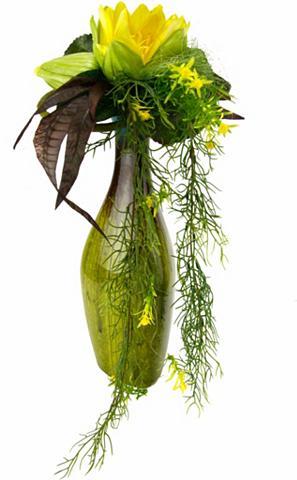 Dirbtinė gėlė »Seerose« in vaza