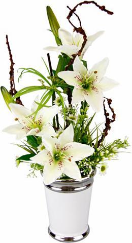 Dirbtinė gėlė »Lilien« im puodas