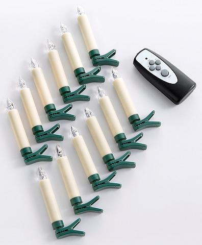 LED Kalėdinės žvakės kabellos