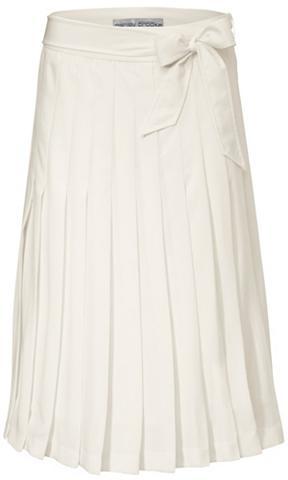 Klostuotas sijonas su surišamas diržas...