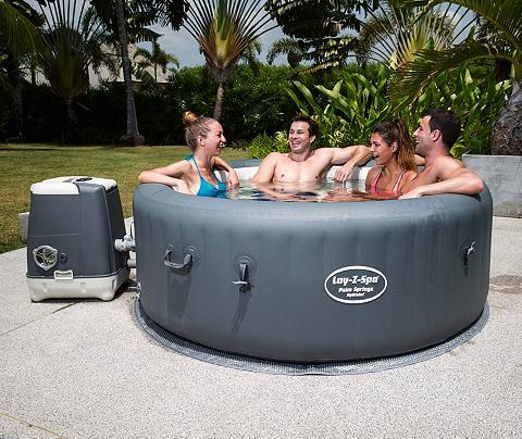 BESTWAY Rinkinys: Whirlpool »Lay Z-Spa Palm Sp...