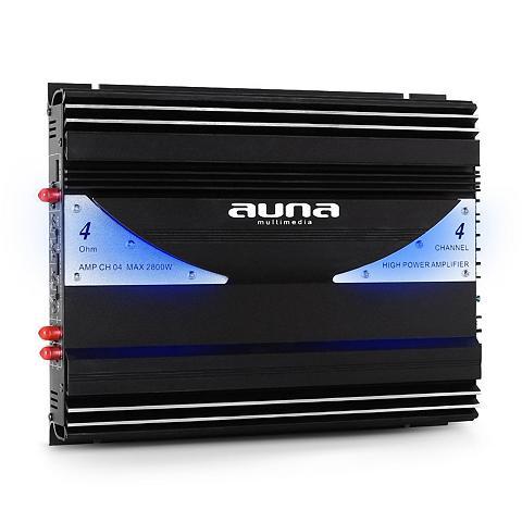 Auna 4 Kanal stiprintuvas Auto Endstufe 380...