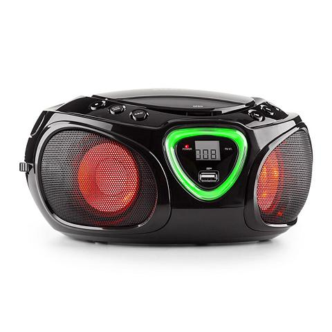 Auna Boombox CD USB laikmena MP3 MW/UKW-Rad...