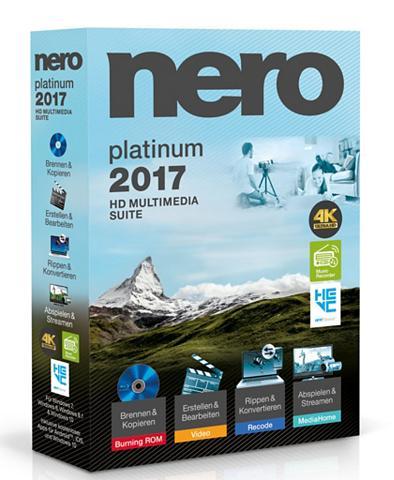 Software »Nero 2017 Platinum«