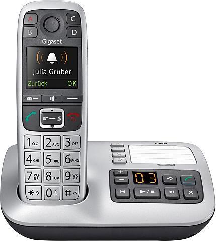 GIGASET »E560 A« Bevielis DECT-Telefon (Mobilt...