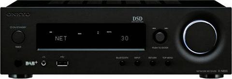 ONKYO »R-N855« 2.1 Stereo-Receiver (WLAN BLU...