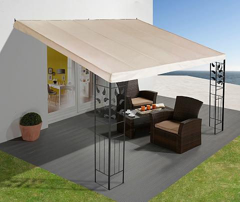 Anbaupavillon »Blätter« 3x3 m / 3x4 m