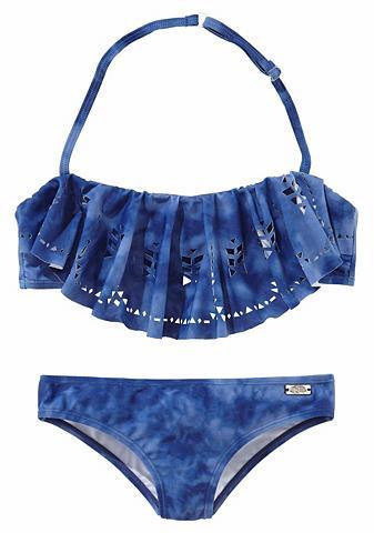 BUFFALO Bikini maudymosi kostiumėlis su klostė...