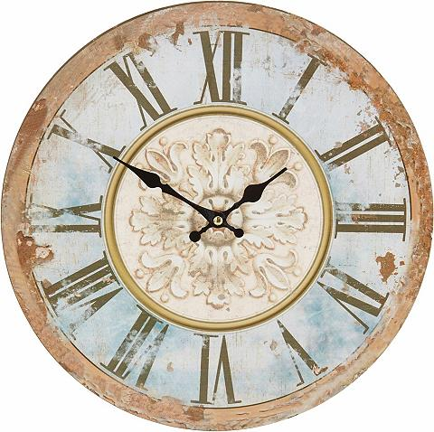 HOME AFFAIRE Sieninis laikrodis im Antik-Look