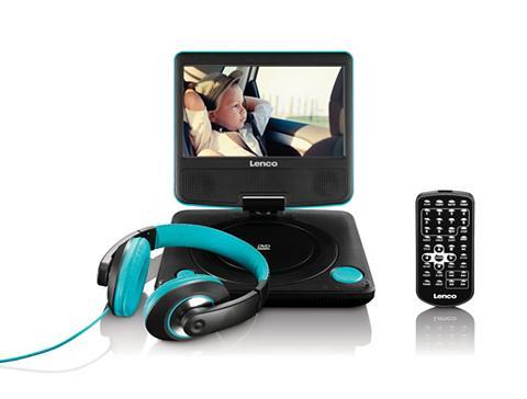Tragbarer DVD-Player ir Kopfh