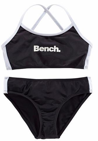 BENCH. Bikini maudymosi kostiumėlis su gekreu...