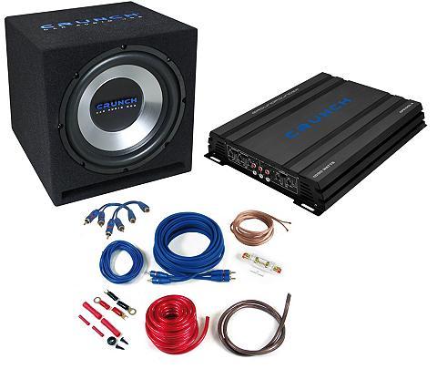 Crunch 4-Kanal Basspaket 1000 Watt »CBP1000« ...
