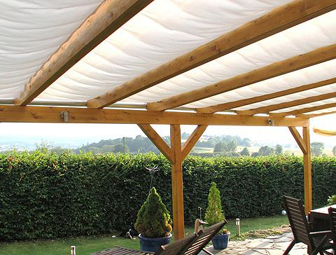 Tentas nuo saulės 512 x 250 cm su 5 Fe...