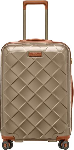 STRATIC Plastikinis lagaminas ant ratukų