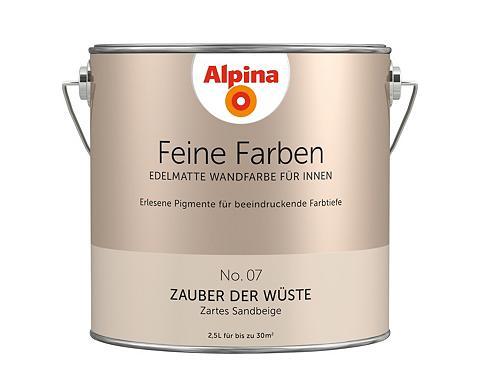 ALPINA Wand- ir Deckenfarbe »Feine spalvos - ...