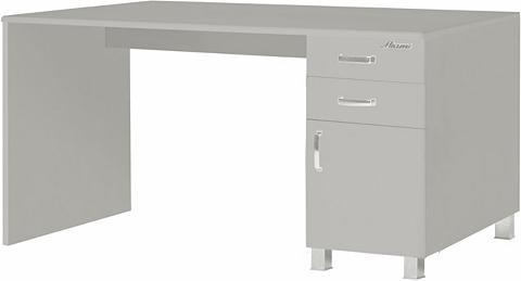 Rašomasis stalas su stalčiai