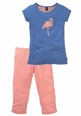 Pižama dėl Mädchen su Flamingodruck