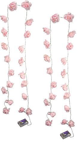HOME AFFAIRE LED šventinės lemputės »Rose« (2 vnt. ...