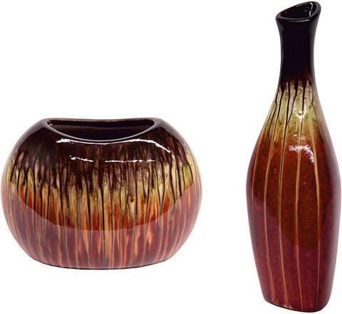 HOME AFFAIRE Dekoratyvinė vaza (Rinkinys 2 vienetai...