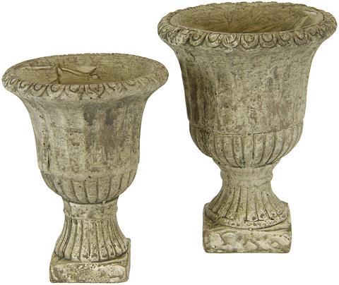 I.GE.A. Übertopf »Antik-Keramikpokal« (Set 2 v...
