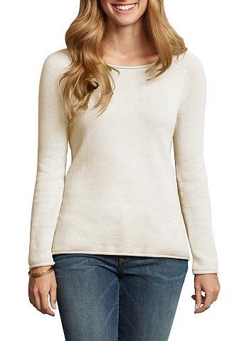 Megztinis su Marškinėliai apvalia iški...