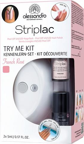 »Striplac Try Me Kit French Rosé« Nagų...