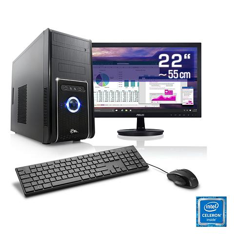 Office PC rinkinys | Intel J1900 | 8 G...