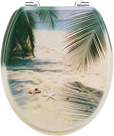 WC-dangtis »Palmen ant Strand«