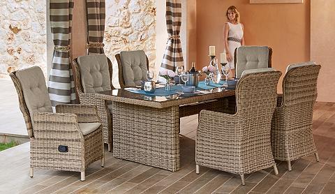 Sodo baldų komplektas »Riviera« 13-tlg...