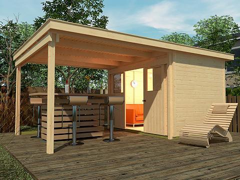 WEKA Sodo namelis »Loungehaus Gr. 2« Gesamt...