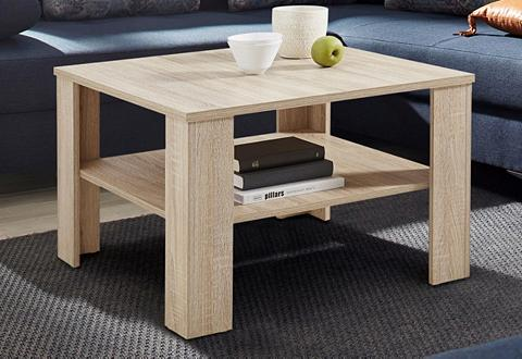 Kavos staliukas su praktischem lentyna...