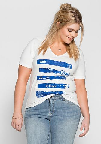 Marškinėliai su raštas