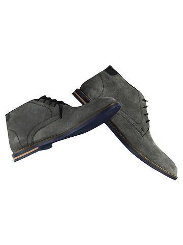 Odiniai batai su Kontrastnähten